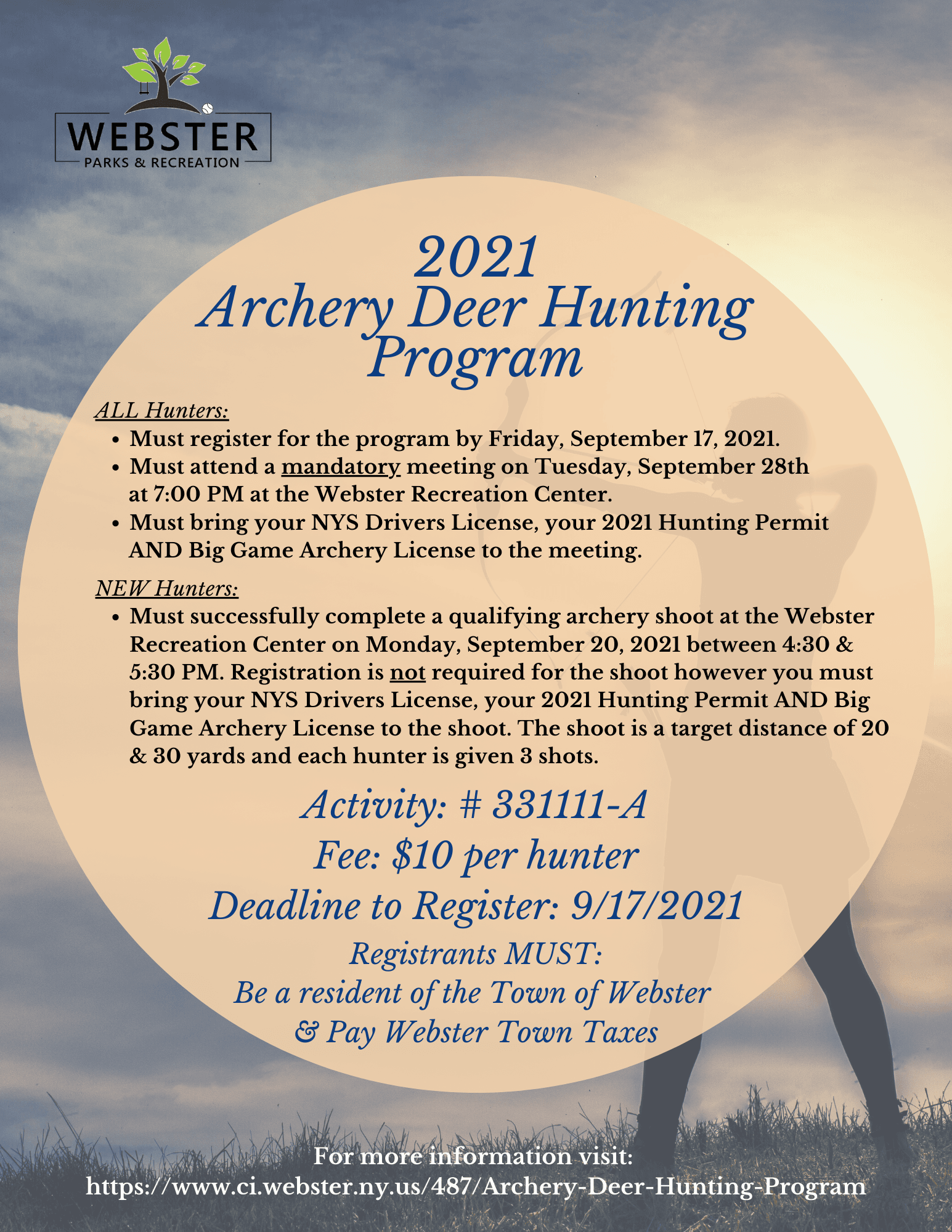Archery Deer Hungting Full Page