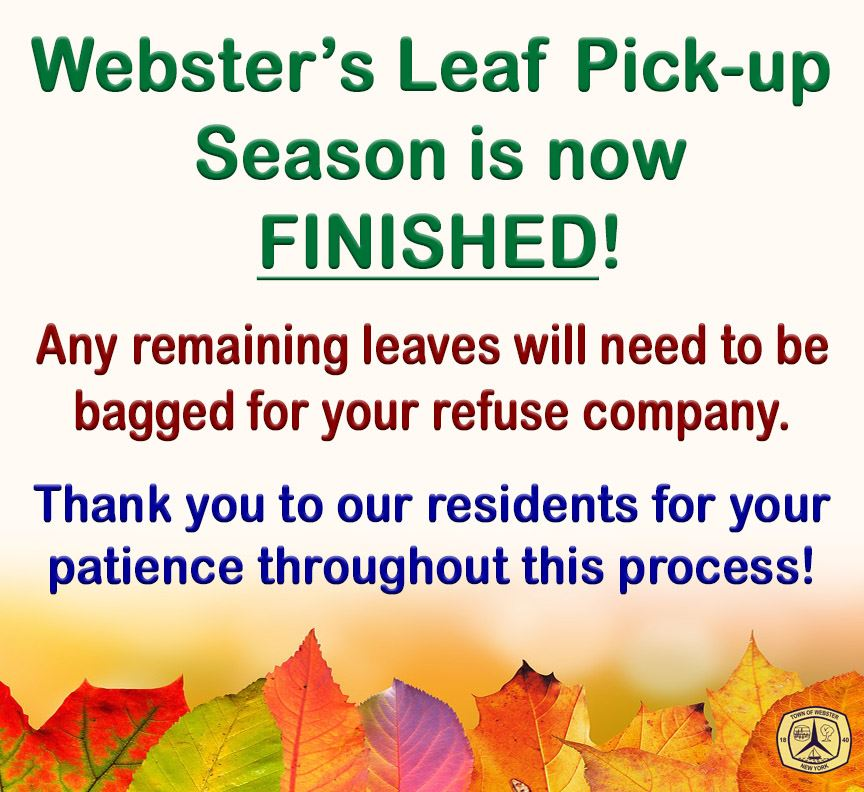 Leaf pickup END