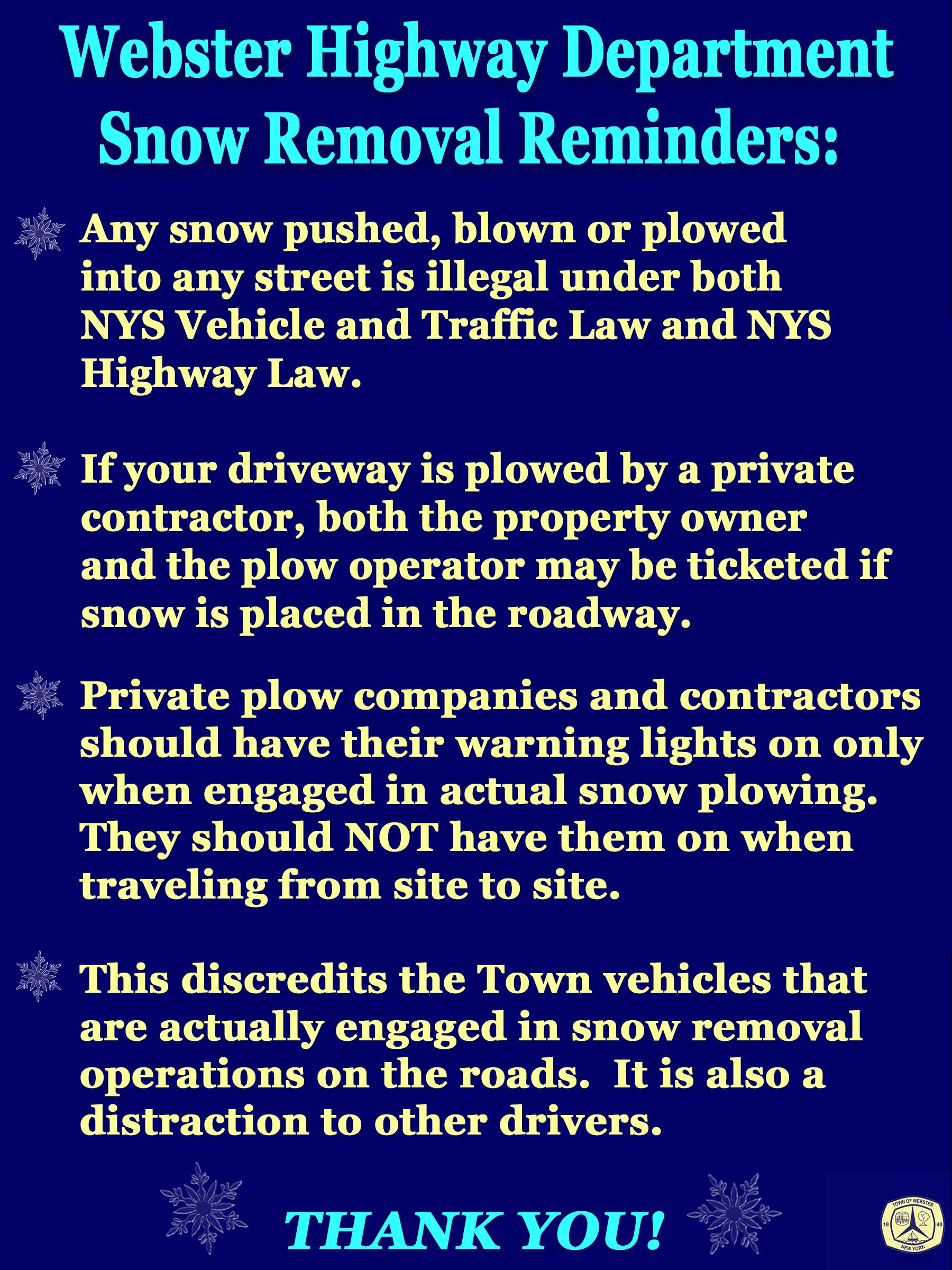 snow plowing update 12 20