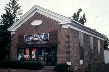 Webster Automotive building